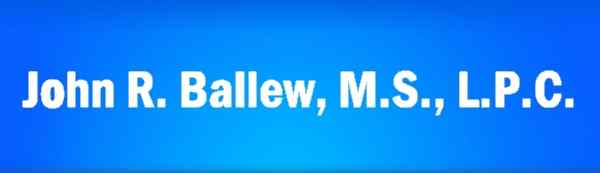 John R. Ballew, M.S.  Licensed Professional Counselor